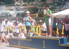 REGATA DE NARÓN, NOEL NO PODIO