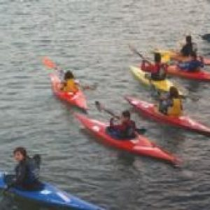Iniciación as actividades nauticas: Piragüismo