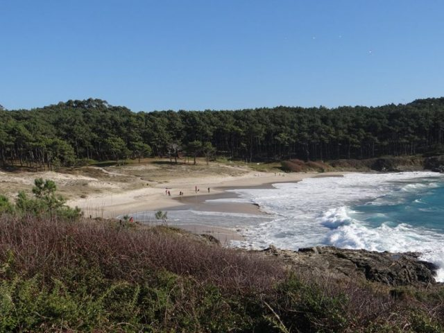 Praia de Melide. Marian