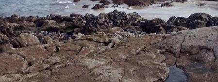 Samíl dende as rochas. Iria