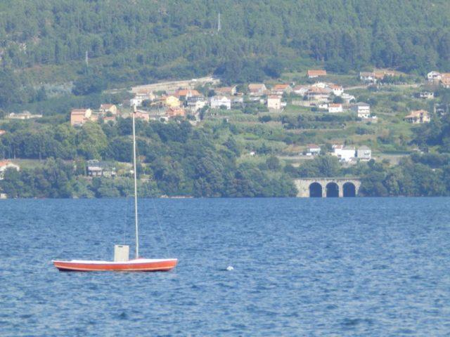 Snipe e ponte do tren. María Moreira